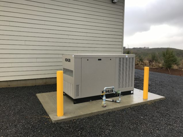 generator installation oregon
