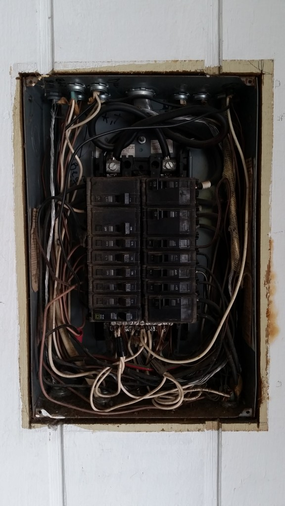 before update to electrical panel