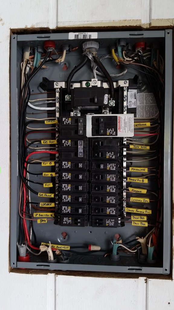 electric panel change out